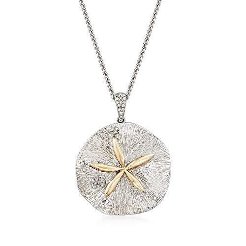 Diamond Sand Dollar Necklace