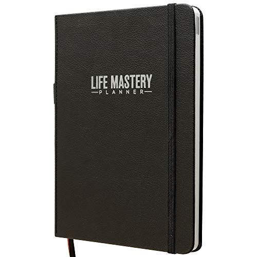 Life Mastery Planner - A 12 Month Journey to Crush Your Goals, Increase Productivity, Passion, Success & Happiness - Weekly & Monthly Life Planner, Habit-Tracker, Gratitude Journal & Organizer