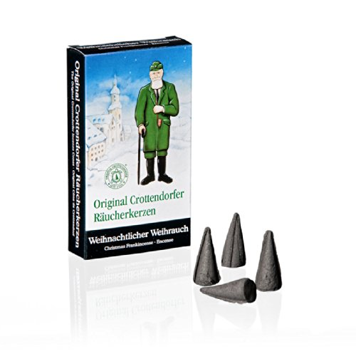 Crottendorfer Frankincense Scented Incense Cones, Pack of 24, Made in Germany