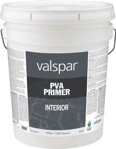 Valspar 11288 Interior PVA Wall Primer, 5-Gallon