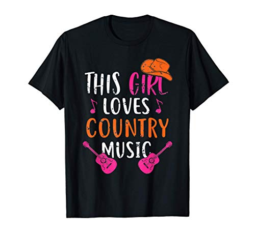 This Girl Loves Country Music We...