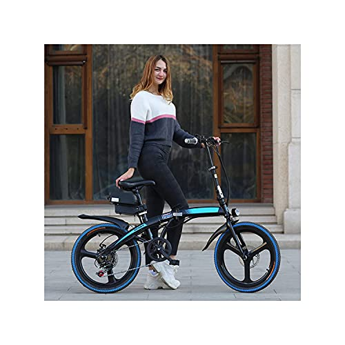 Bicicleta Eléctrica 7 Velocidad Velocidad Velocidad Ebike Extraíble Litio Ion Batería High...