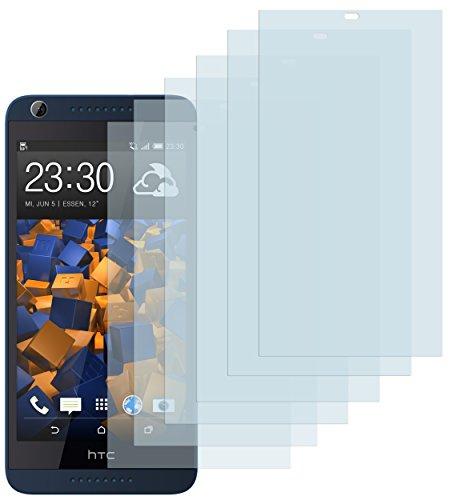 mumbi Schutzfolie kompatibel mit HTC Desire 626G Folie klar, Bildschirmschutzfolie (6X)
