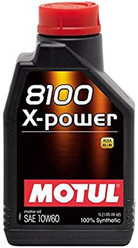Motul 106142 8100 X-Power 10W60-1Liter