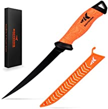KastKing Fillet Knife 7 inch, Professional Level Knives for Filleting Fish, Boning Meat And Processing Any Food.…