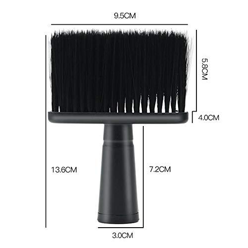 CHDHALTD Neck Face Duster, Soft Hairdressing Brush, Hair Sweep Brush Salon Household Hair Cleaning Brush,Brush Barber Haircut Hairdressing Salon Stylist Tool