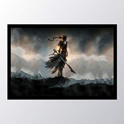 Quadro com moldura Hellblade Senuas_001