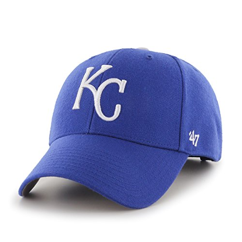'47 Brand MLB Kansas City Royals MVP Gorra Ajustable, Un tamaño