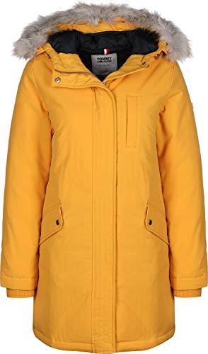 Tommy Jeans Damen TJW Technical DOWN Parka Jacke, Gelb (Yellow ZBC), (Herstellergröße:L)