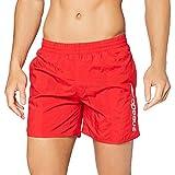 Speedo Scope - Bañador de natación para hombre, color rojo/blanco, talla L