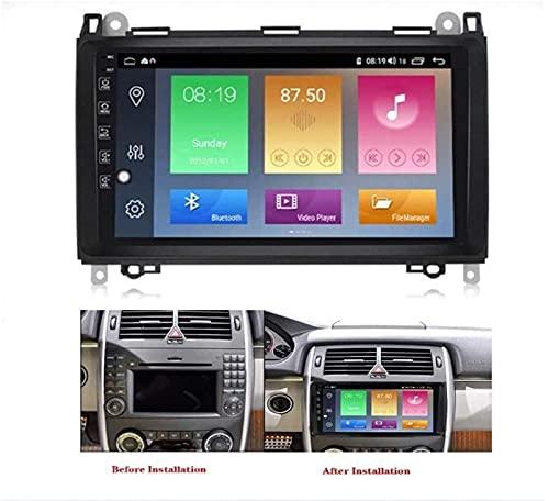 N/Z Inicio Equipos Estéreo de Coche de 9 Pulgadas para Benz B200 Radio Multimedia Android 10.0 Soporte de Pantalla Dividida / 7 Luces/BT/Cámara Trasera/Carplay/Dab/OBD/TPMS 4G 64G