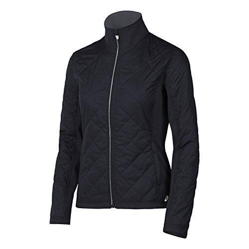 ASICS Damen Thermo Windblocker Jacke, Damen, Performance Black, Medium