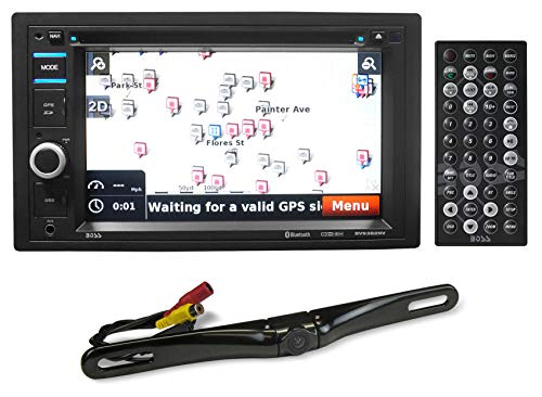 "Boss BV9382NV 6.2"" Car DVD GPS Navigation Bluetooth Receiver w/USB+Backup Camera"