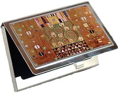 Frieze By Gustav Klimt Business Card Holder