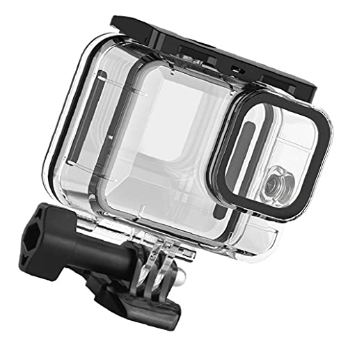 RRunzfon Funda Impermeable para GoPro héroe 9 de protección Carcasa subacuática Buceo Cubierta Acción Accesorios de la cámara, una fotografía Mochila para DSLR y Multi-Lente