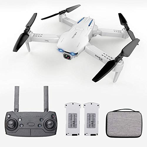 Goolsky Drone S162 RC con Telecamera GPS Regolabile grandangolare 1080P WiFi Gesto Foto Video MV FPV RC Quadcopter Follow up Drone per Adulti