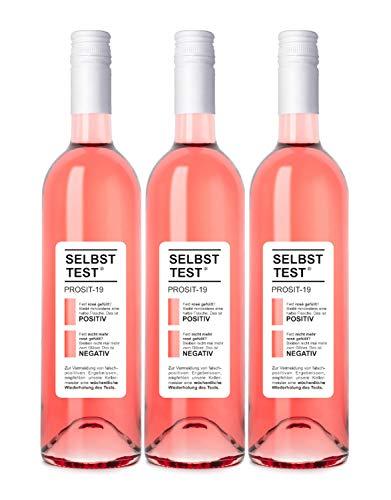 Selbsttest Rosé feinherb, Dagernova Weinmanufaktur, Bad Neuenahr-Ahrweiler, Jahrgang 2020 (3 x 0,75 l)