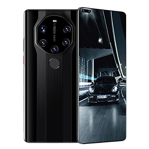 lei shop Smartphone 4G-64GB, Capacidad de batería de 4000 mah, Pantalla HD de 6,8 Pulgadas, Huella Digital, desbloqueo de reconocimiento Facial, teléfono móvil Android.