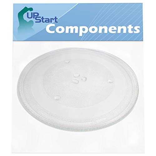 5304464116 Microwave Glass Turntable Plate Replacement for Frigidaire FGMV176NTDB - Compatible with 5304509621 13.5 Inch Glass Tray