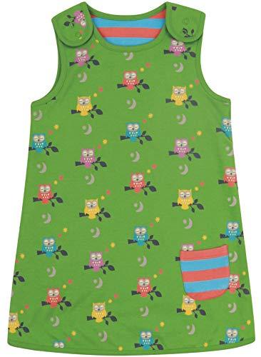 Piccalilly Robe réversible pour enfant Motif chouette de minuit Vert - Vert - 18 mois