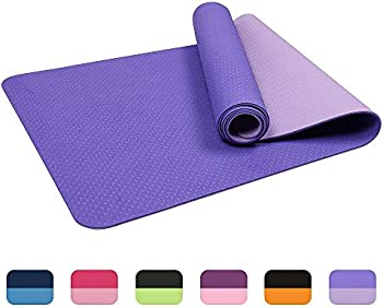 Vegou Eco Friendly Non-Slip Workout Mat