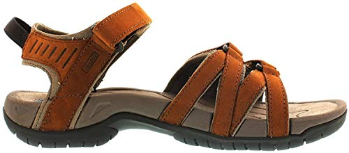 Teva Tirra Leather W's Damen Sport- & Outdoor Sandalen, Braun (rust 664), EU 39