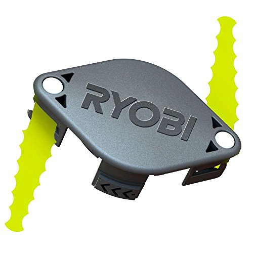 Ryobi ACFHRL2 Polycarbonate Bladed Trimmer Head Compatible with Ryobi 18-Volt, 24-Volt, and 40-Volt Strimmers (2 Pack)