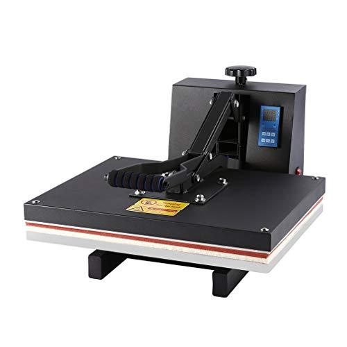 Prensa de Calor, Impresora para Camisetas con Control Digital, Máquina Plancha Termica Sublimacion (50×40 cm)