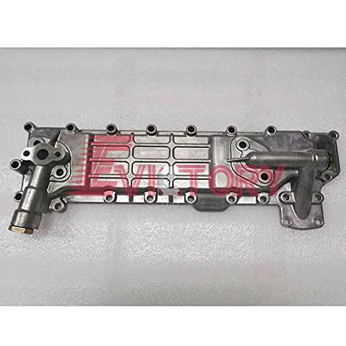 Voor Isuzu dieselonderdelen 4BG1 4BG1T 4BG1-TC oliekoeler kern + OIL COOLER COVER
