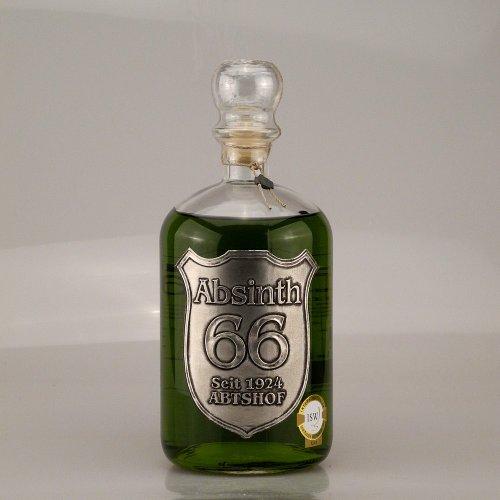 Abtshof Absinth 66 in Apothekerflasche 66% 1,0l