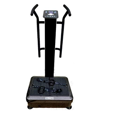 Lowest Price! HEALTH AND MED.COM GForce Pro DX - 1500W Dual Motor Whole Body Vibration Plate Exercis...