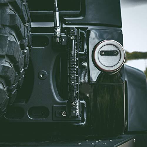 N/Y Flagpole Holder Antenna & Flag Mount Bracket for Jeep Wrangler JK JKU JL JLU