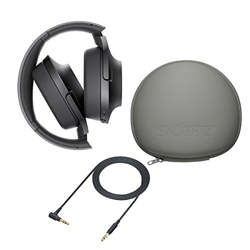 Sony H.ear on Wireless Noise Cancelling Headphone, Charcoal Black (MDR100ABN/B)