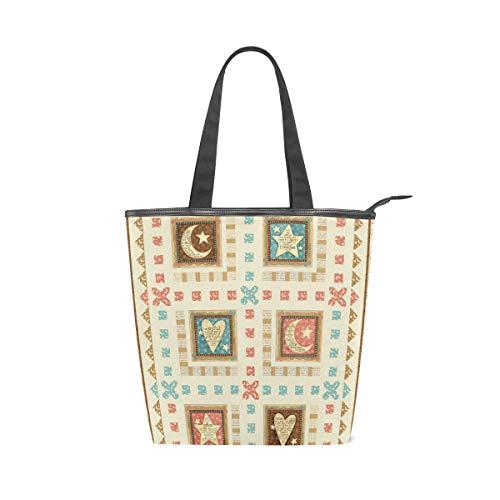DEZIRO Klassische Handtasche mit Steppmuster für Damen