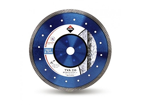 Rubi 31932 Disco Diamante Material Duro, Plateado, 115 mm