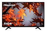 Hisense H39A5100, TV Full HD, Motion Picture Enhancer, Clean View, DVB-T2 + S2, USB Media, HDMI, Natural Color Enhancer, Clear Sound, USB/Ethernet/USB, 39', Negro