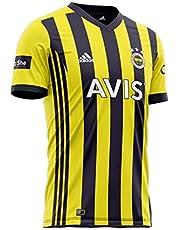 2020-2021 Fenerbahce Istanbul Thuis Gestreept/Blauw Heren Jersey