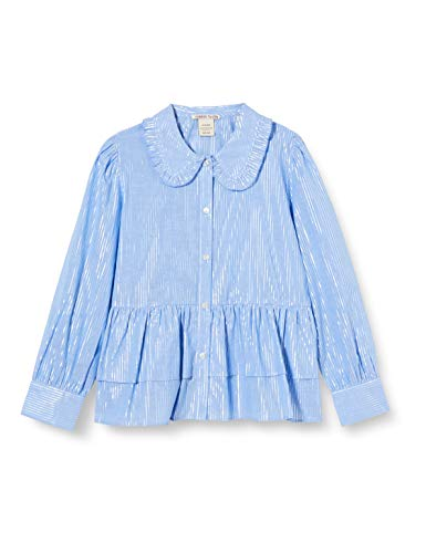 Scotch & Soda R´Belle Girls Langärmliges Shirt im Boxy Fit Blouse, Combo R 0597, 12