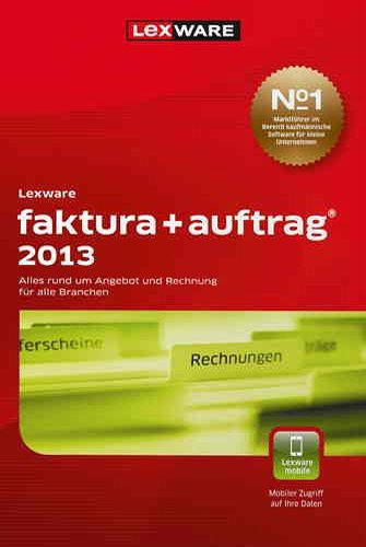 Lexware Faktura+Auftrag 2013 (Version 17.00) [Download]