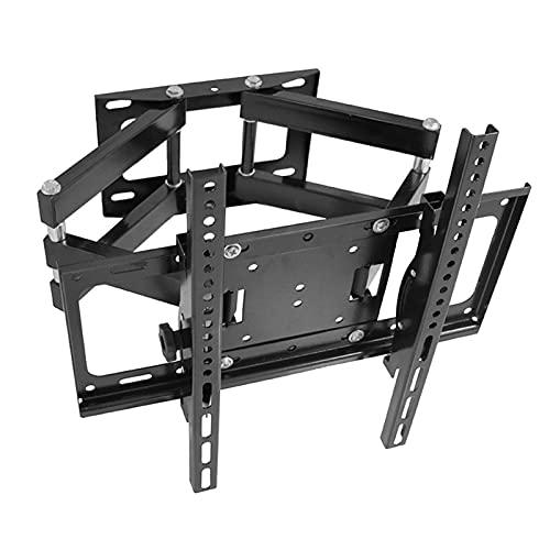 Soporte de pared para TV de movimiento completo, soporte de monitor extensible y giratorio para la mayoría de las pantallas LCD de TV LCD LED de 26-60 pulgadas, la carga máxima de 50 kg