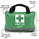 Voom Direct 90 Piece Compact Premium First Aid Kit with Reflective Bag Includes Eyewash Ice Packs & Emergency Blanket… 5