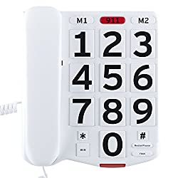 in budget affordable Home Intuitive desktop landline, amplification, large and easy-to-read buttons, …