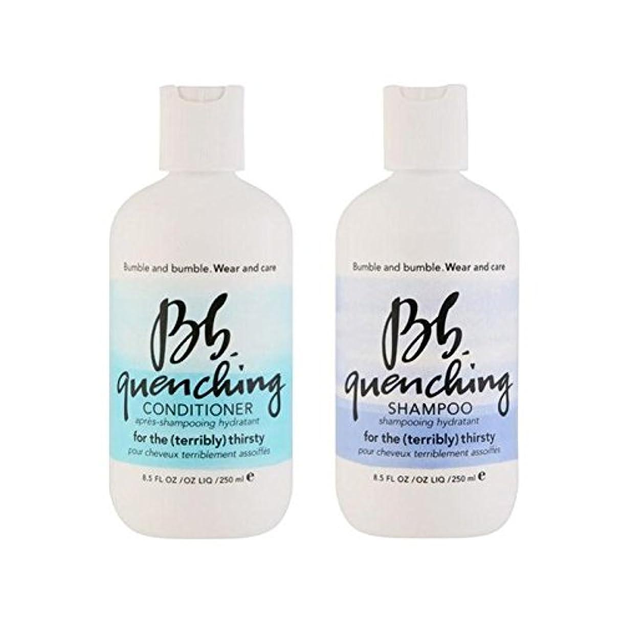 分類暴力的な検証Bumble & Bumble Wear And Care Quenching Duo - Shampoo And Conditioner - シャンプーとコンディショナー - デュオを急冷着用し、世話 [並行輸入品]