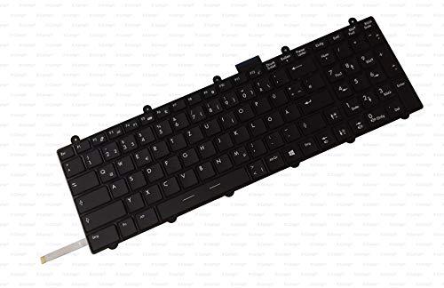 X-Comp Tastatur DE Schwarz mit Rahmen inkl. Backlight für MSI Apache Pro GE60 GE70 GT60 GT70 GX60 GX70 GT70 2PC Dominator Serie