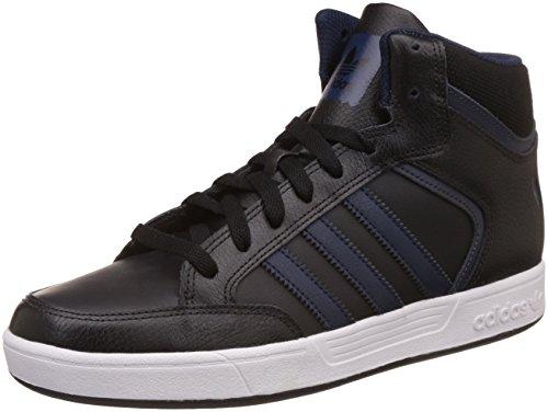 adidas Herren Varial Mid Hohe Sneaker, Schwarz (Core Black/Collegiate Navy/DGH Solid Grey), 42 2/3 EU