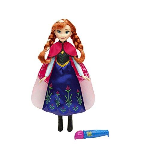 Disney Frozen - Muñeca Anna con Capa mágica (Hasbro B6701ES0)