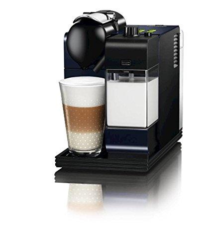 Nespresso Lattissima + Passion Red EN520R DeLonghi - Cafetera monodosis...