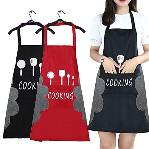 3.Delantales moderno de cocina