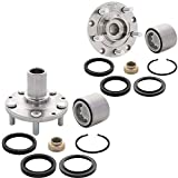 [2-Pack] BR930577K - REAR Wheel Hub Bearing Assembly with Repair Kit Compatible With [Subaru] 1993-2007 Impreza, 1998-2008 Forester, 1992-1999 Legacy [See Description for Fitment]]