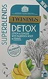 Twinings SuperBlends Detox 20 Tea Bags, 80-Count, Pack of 4